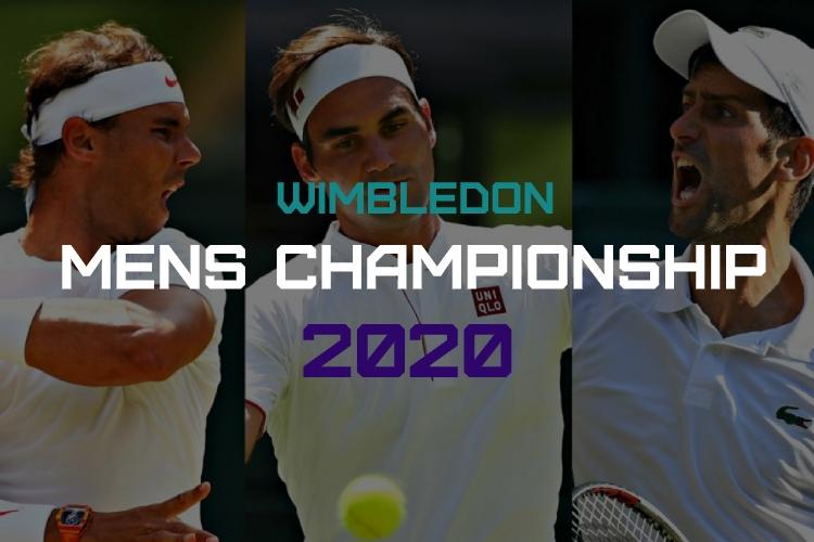 Mens Wimbledon 2020 Predictions